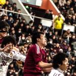 全日本大学サッカー選手権 決勝 PhotoⅡ 早稲田ー福大 #incolle