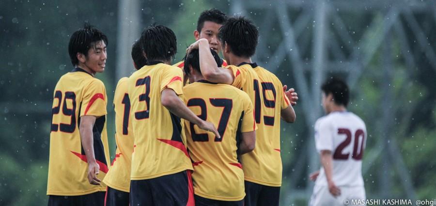 [総理大臣杯2014] アミノバイタルカップ 1回戦(M5) 慶應義塾大学ー山梨学院大学